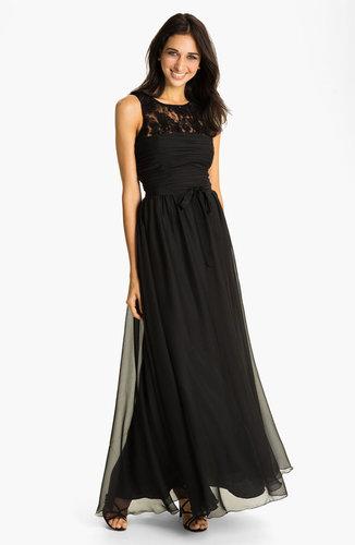 ML Monique Lhuillier Bridesmaids Chiffon Gown (Nordstrom Exclusive)