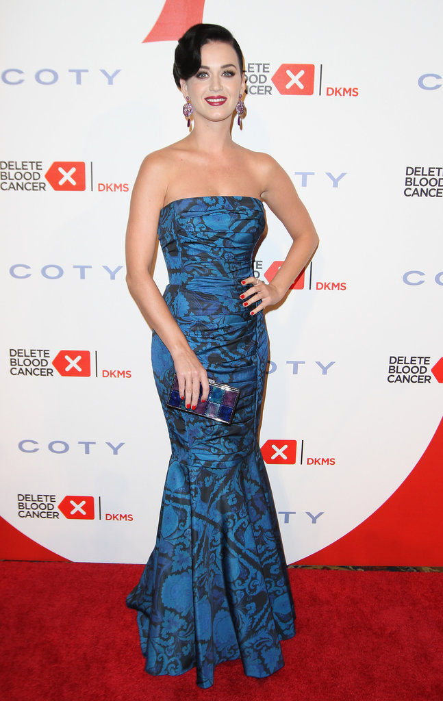 Katy Perry attended the Delete Blood Cancer Gala in NYC.