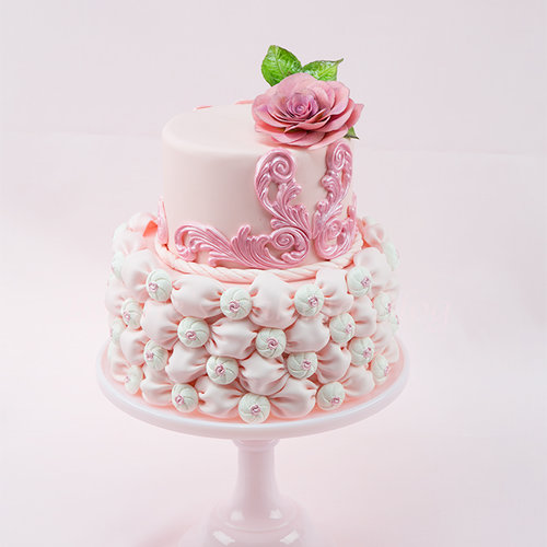 Fondant billow weaves
