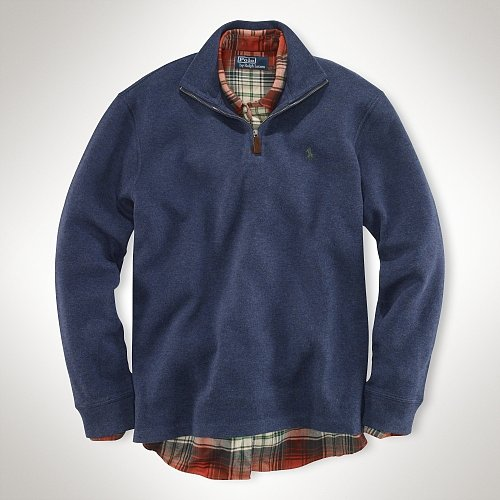 Polo Ralph Lauren French-Rib Half-Zip Pullover