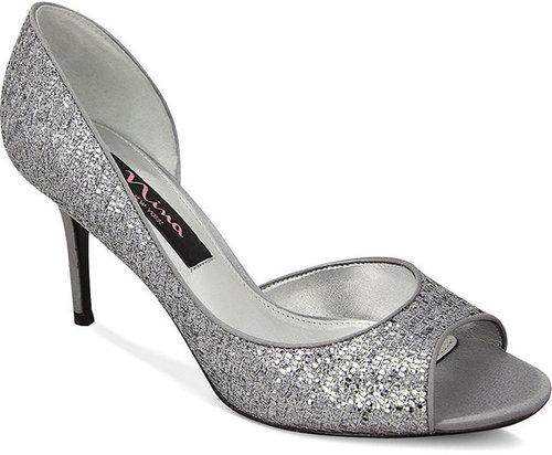 Nina Shoes, Fern Evening Pumps