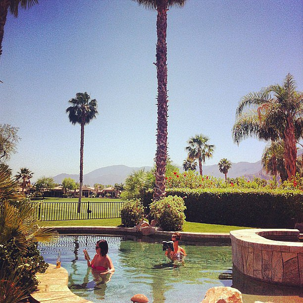 Glitterandgrace shared a pic of pool reading.
