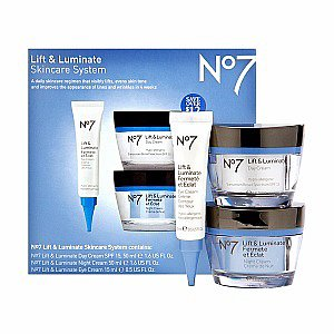 Boots No7 Lift & Luminate Skincare System