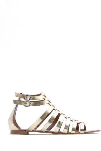 Gladiator leather sandals