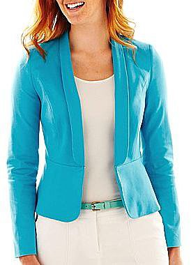 Worthington® Easy Peplum Jacket