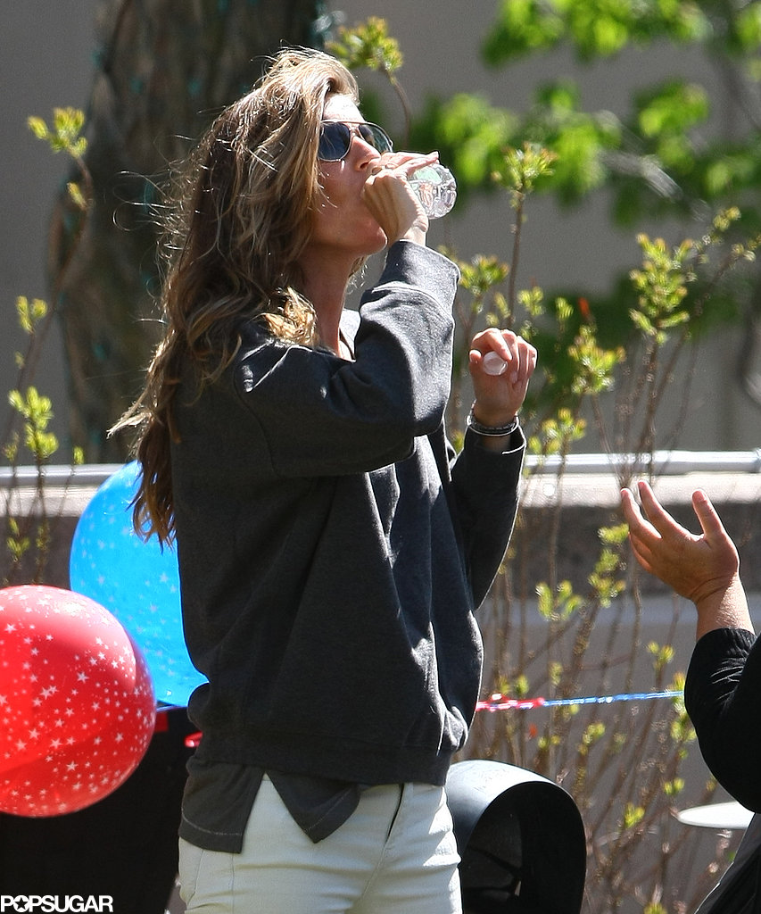 Gisele Has a High-Fashion Party Before a Family Reunion With Tom