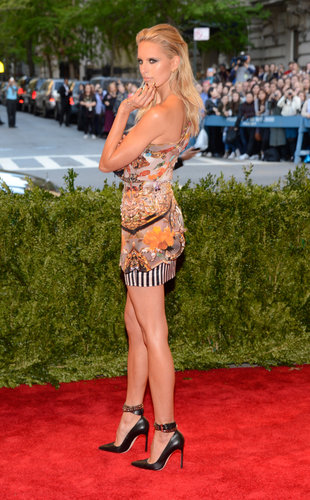 Karolina Kurkova at the Met Gala 2013.