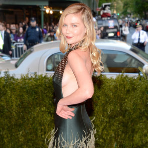Pics of Kristen Dunst in Louis Vuitton at 2013 Met Gala Ball