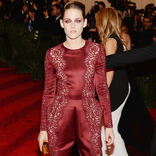 Kristen Stewart on Met Gala 2013 Red Carpet