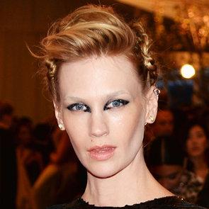 January Jones Hair at Met Gala 2013 | Red Carpet