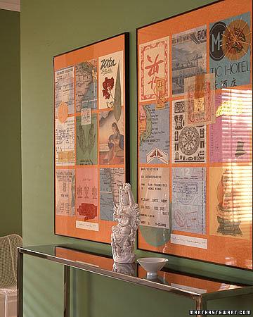 Frame Up Paper Mementos