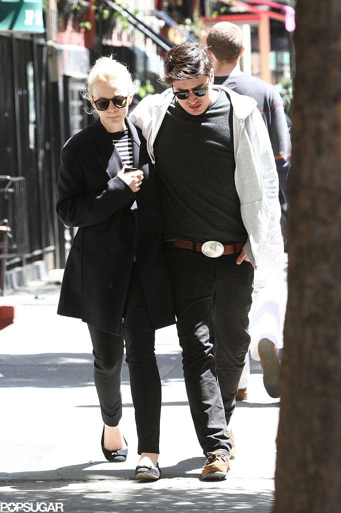Carey Mulligan and Marcus Mumford grabbed lunch in Manhattan.
