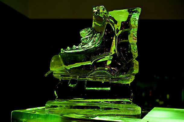 Hockey Skate Ice Luge