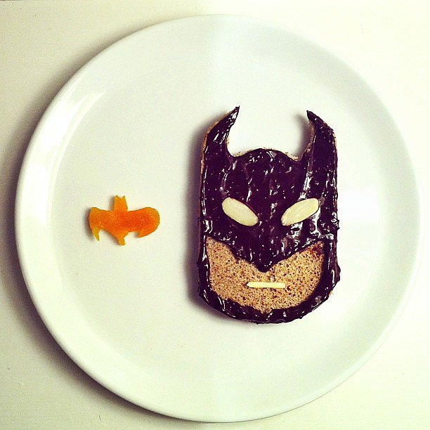 There's a Batman on My Toast!