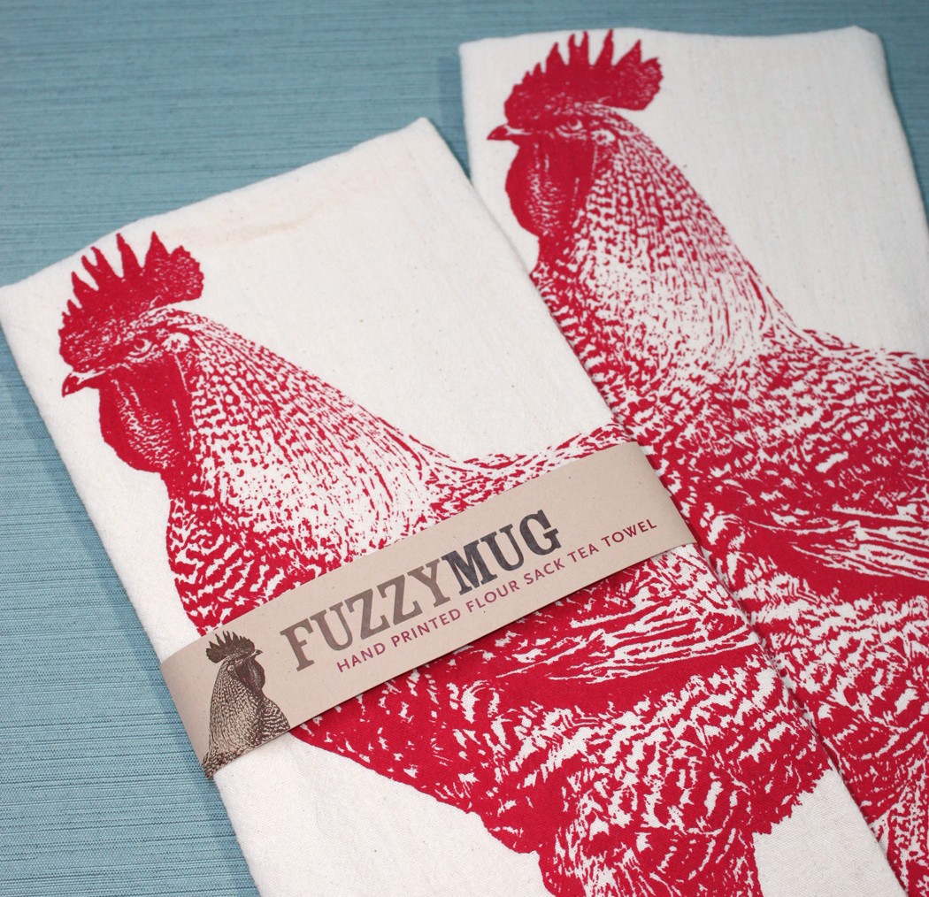 Rooster Hand Towels