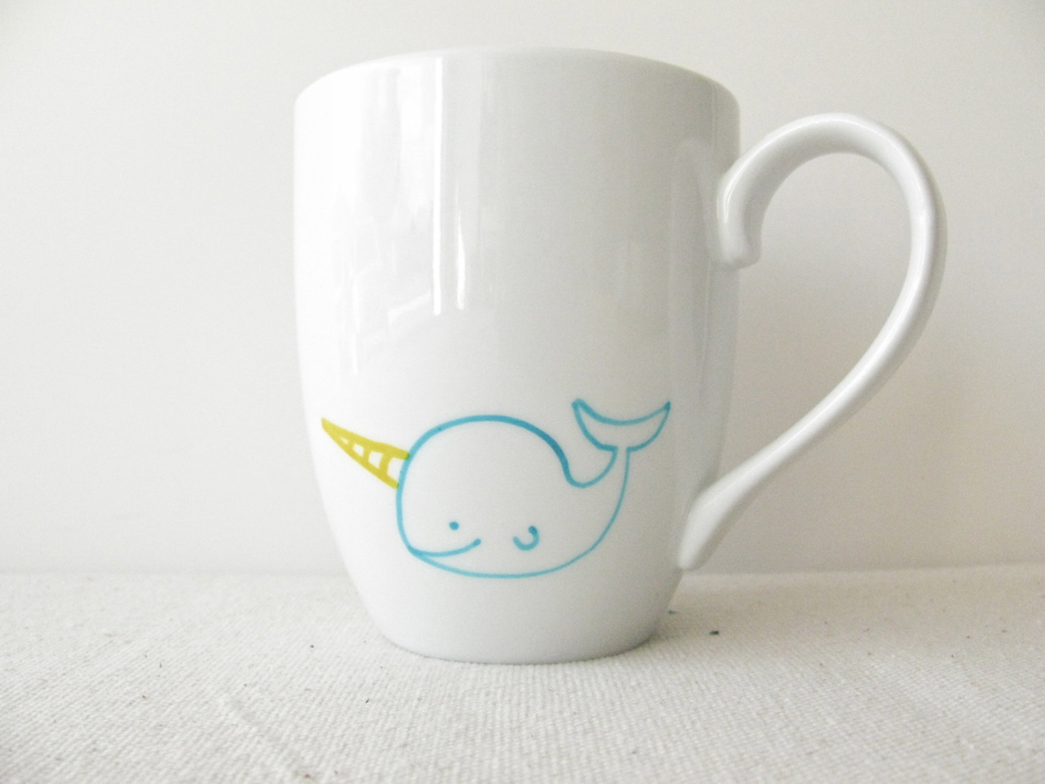 Narwhal Coffee Cup