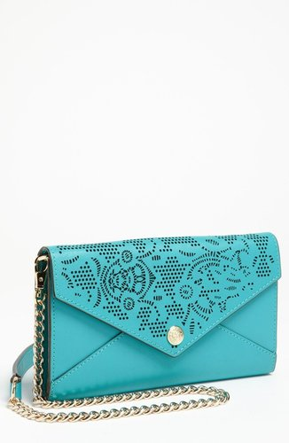 Rebecca Minkoff Laser Cut Wallet on a Chain