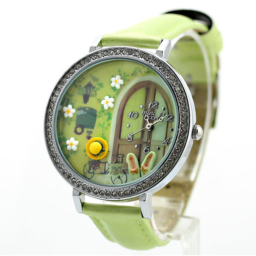 Fresh Garden Polymer Clay Watch