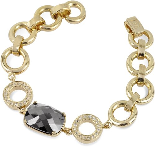 AZ Collection Gold Plated Chain Bracelet