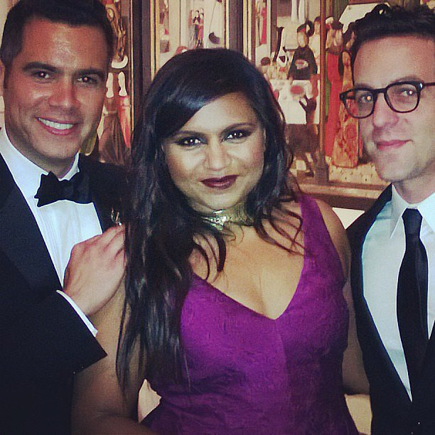Cash Warren hung out with Mindy Kaling and BJ Novak in
