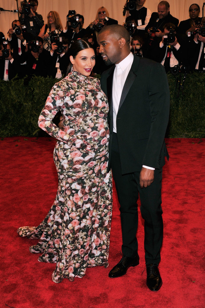 Kanye brought Kim as his date to the May 2013 Met Gala in NYC.