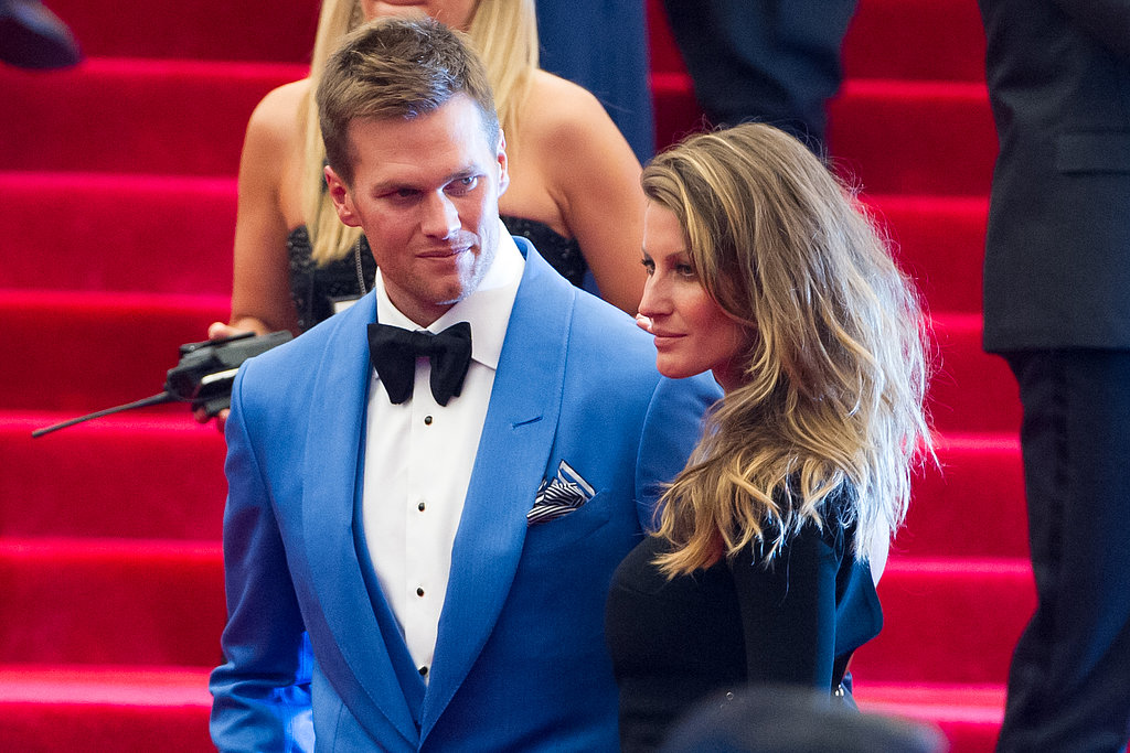 Gisele Bündchen and Tom Brady at the 2013 Met Gala.