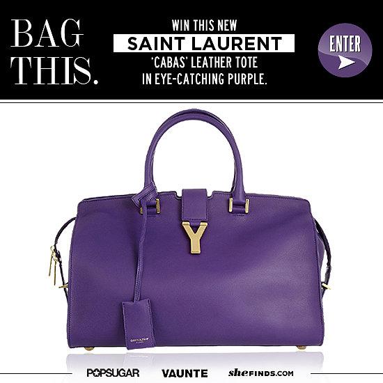 Win a Saint Laurent Cabas Tote