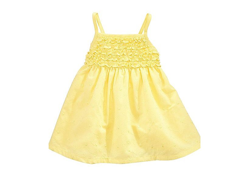 Who wouldn't love this cheery and affordable ruffled sundress from Penelope Mack ($13, originally $26)?