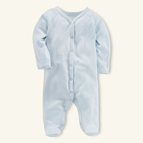 Pearl Blue Solid Coverall