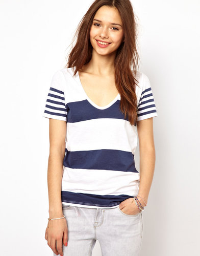 River Island Multi Stripe Tee
