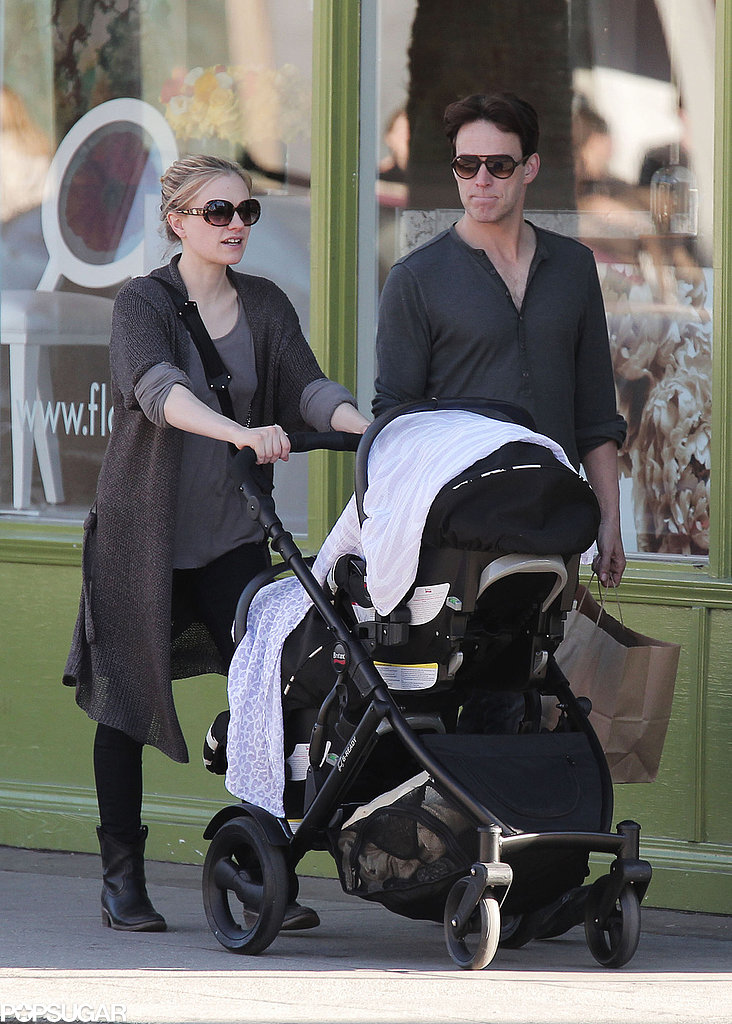 True Blood costars and real-life loves Anna Paquin and Stephen Moyer became a big family in September 2012 with twins, whose names have yet to be revealed.
