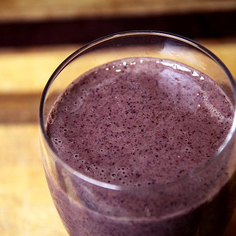 Healthy Smoothie Recipes: Blueberry, Kale & Pineapple | POPSUGAR ...