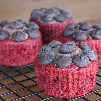 Low-Fat Red Velvet Cupcake Recipe