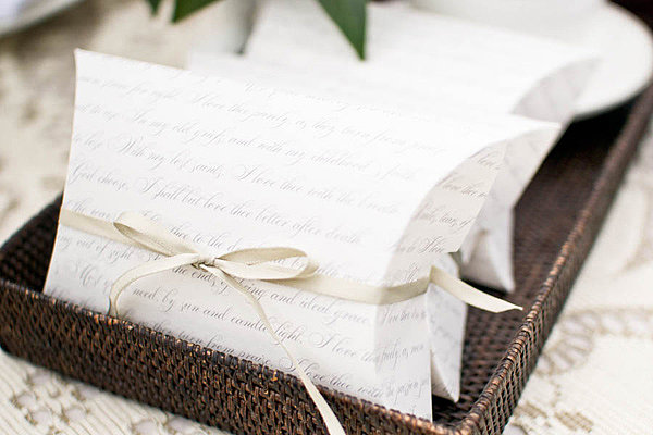 Love Notes Favor Box