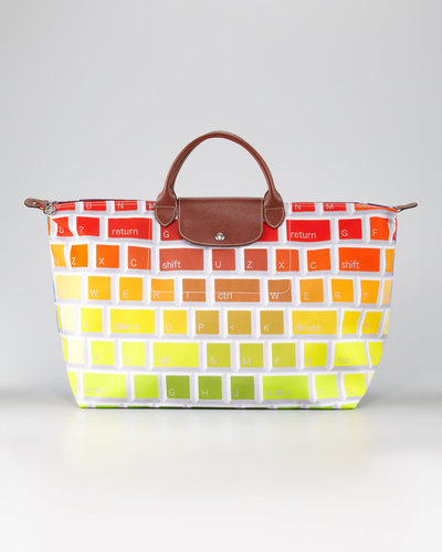 Longchamp Jeremy Scott Clavier Travel Tote Bag