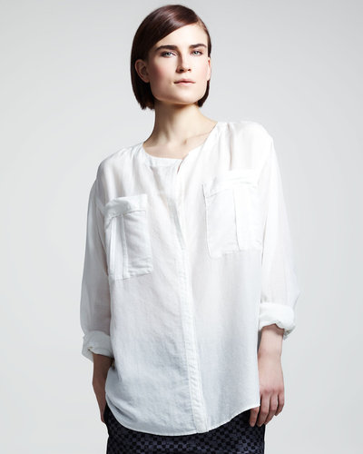 ALC Georgie Cotton-Silk Shirt