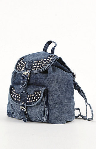 Kirra Stud Denim Backpack