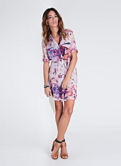 Freida Print Shirt Dress