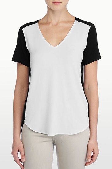 Colorblock V-Neck
