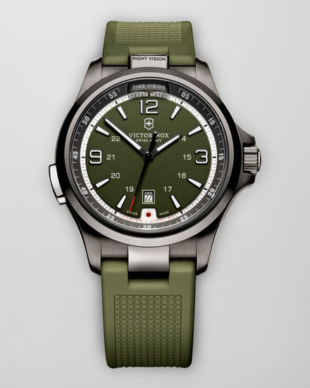Victorinox Swiss Army Night Vision Watch, Green