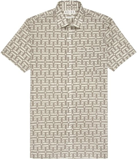 Shooter SHORT SLEEVE ALL-OVER PRINT SHIRT