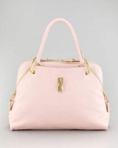 Marc Jacobs Rio Satchel Bag, Pale Pink