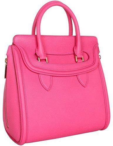 Alexander McQueen - Medium Heroine (Pop Pink) - Bags and Luggage