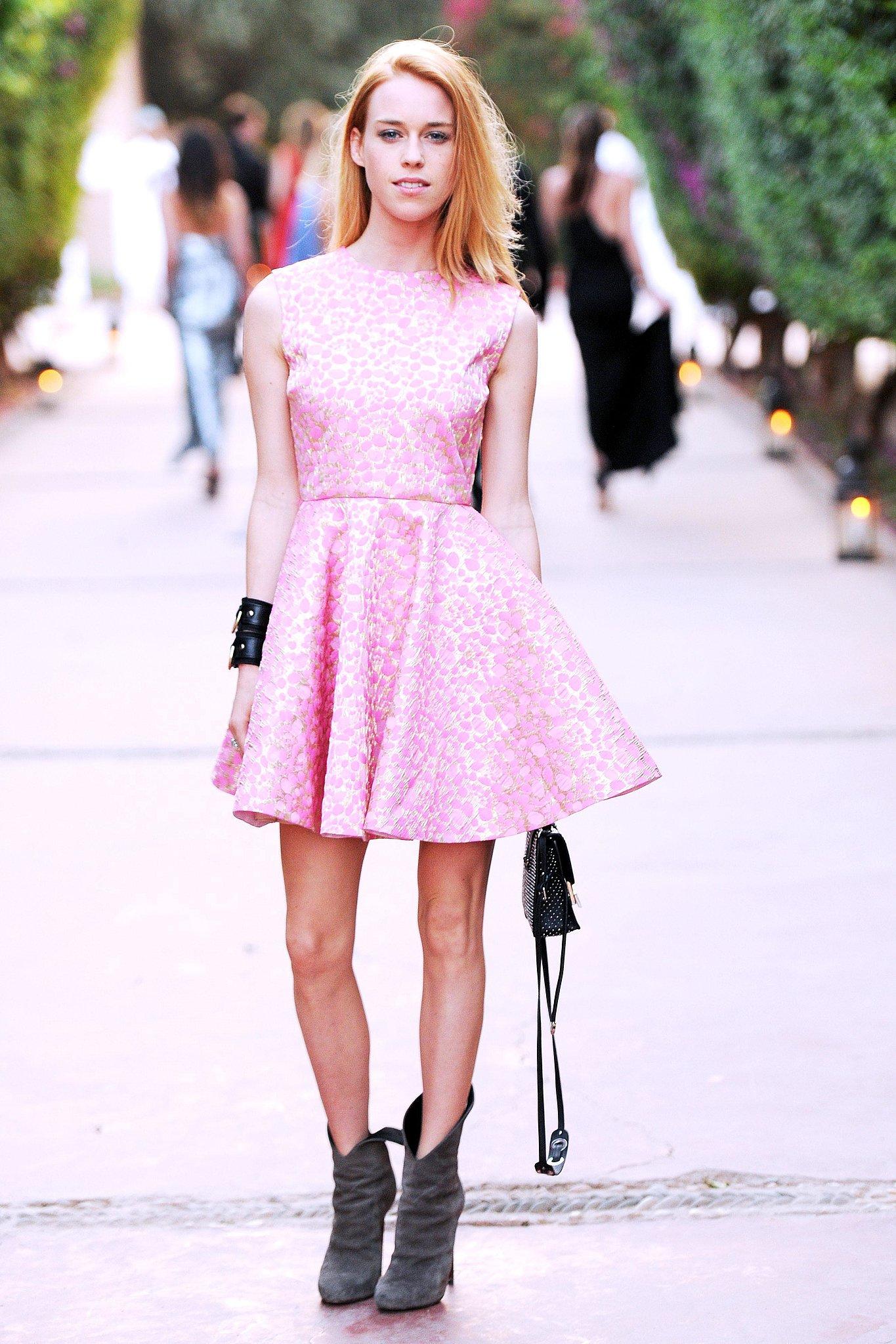 Pink Dress Boots
