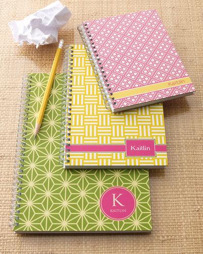 """""""Preppy Mod"""" Notebook Set"""