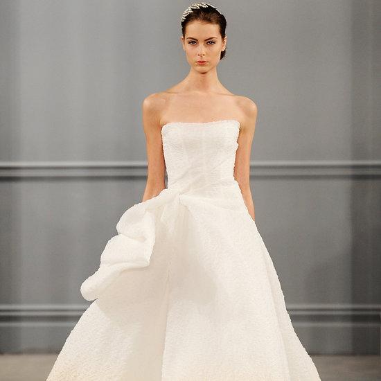 Top Wedding Dress Trends at Spring 2014 Bridal Fashion Week