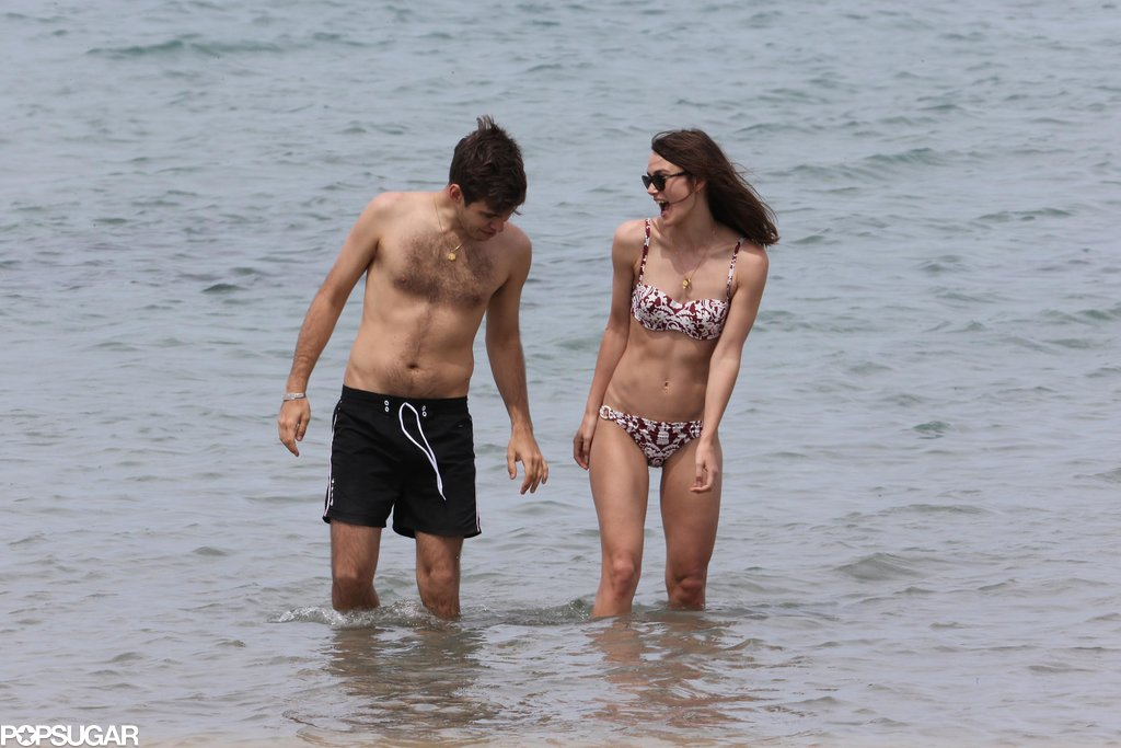 Keira Knightley and James Righton honeymooned in Corsica.