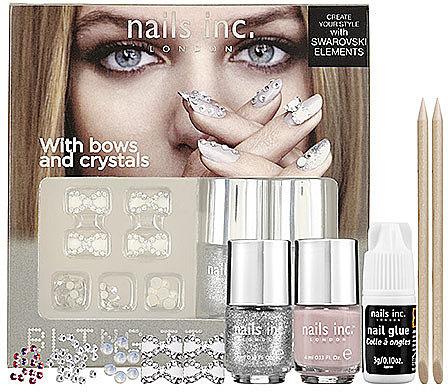 nails inc. Bling It On Kit - Romance