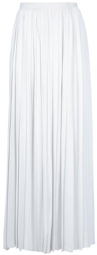 Diorling pleated maxi skirt