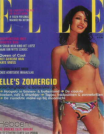 Theresa Moore : ELLE Cover